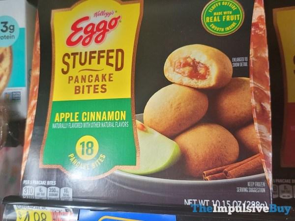 Kellogg s Eggo Stuffed Pancake Bites Apple Cinnamon