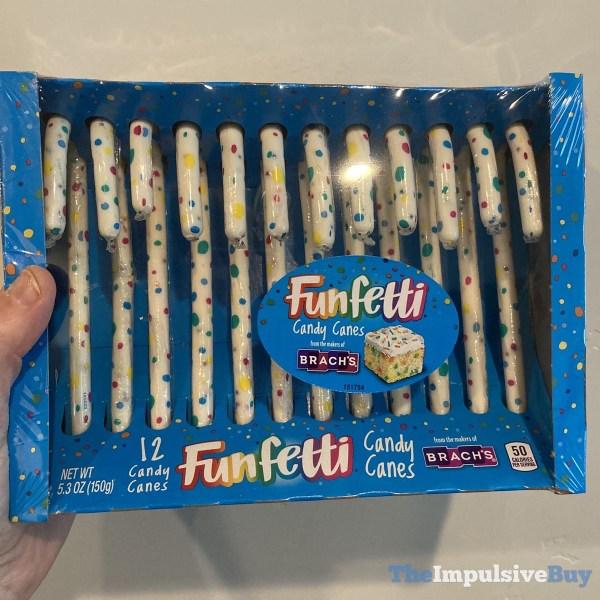 Funfetti Candy Canes