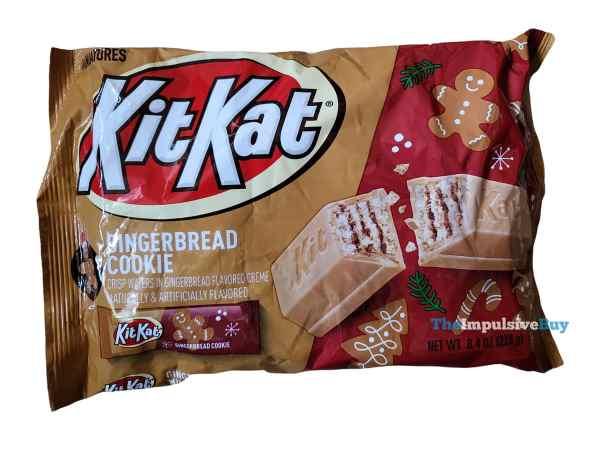 Gingerbread Cookie Kit Kat Bag
