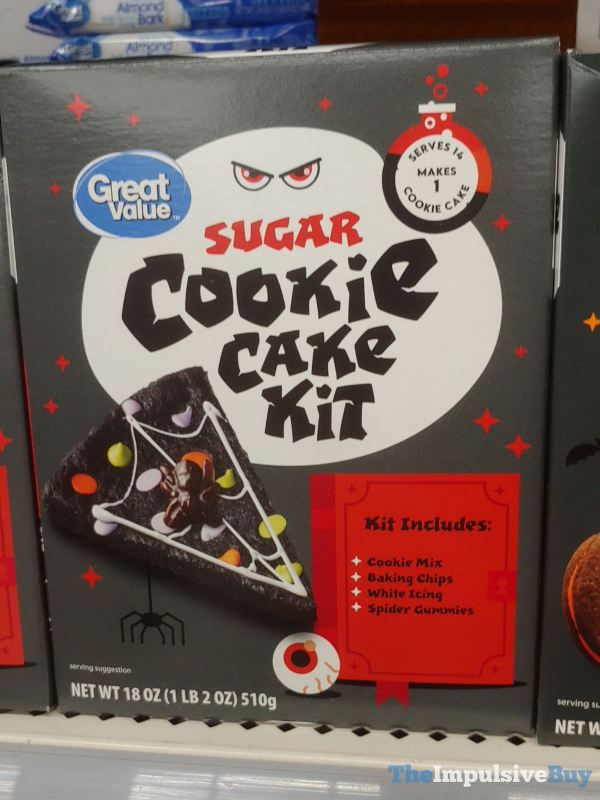 Great Value Sugar Cookie Cake Kit