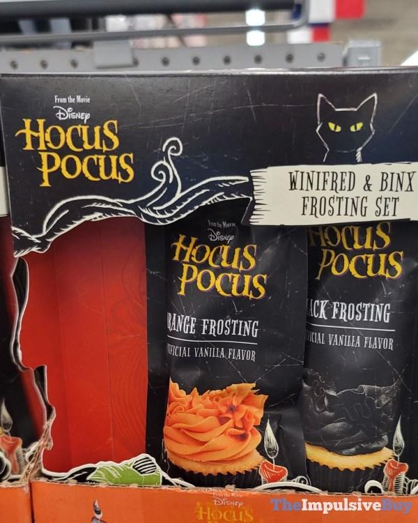 Disney Hocus Pocus Winifred  Binx Frosting Set
