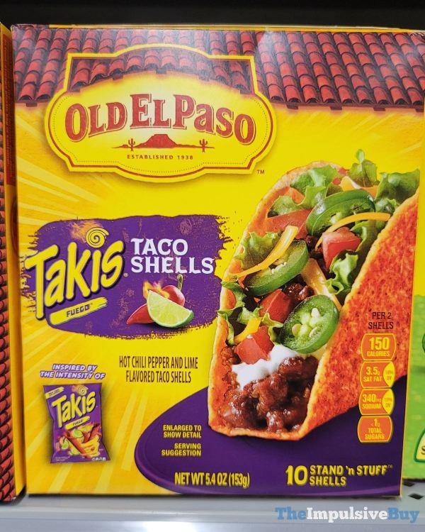 Old El Paso Takis Fuego Taco Shells