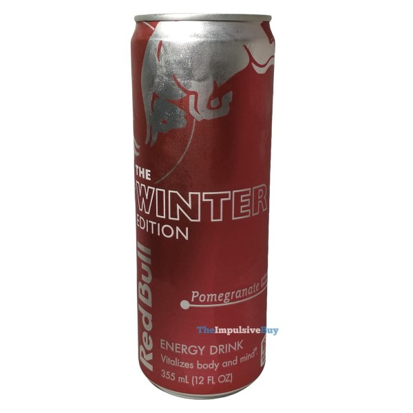 Red Bull Winter Edition Pomegranate Can