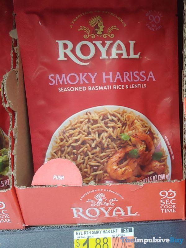 Royal Smoky Harissa Seasoned Basmati Rice  Lentils