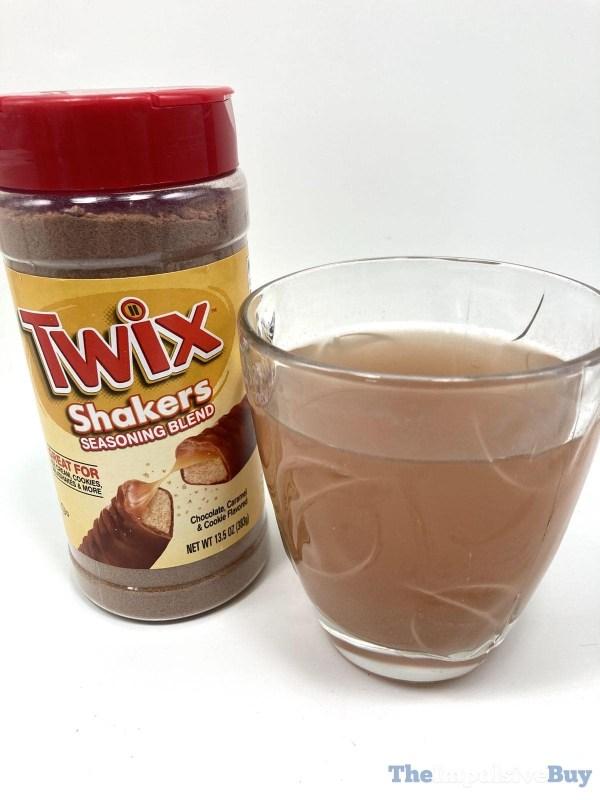 Twix Shakers Water