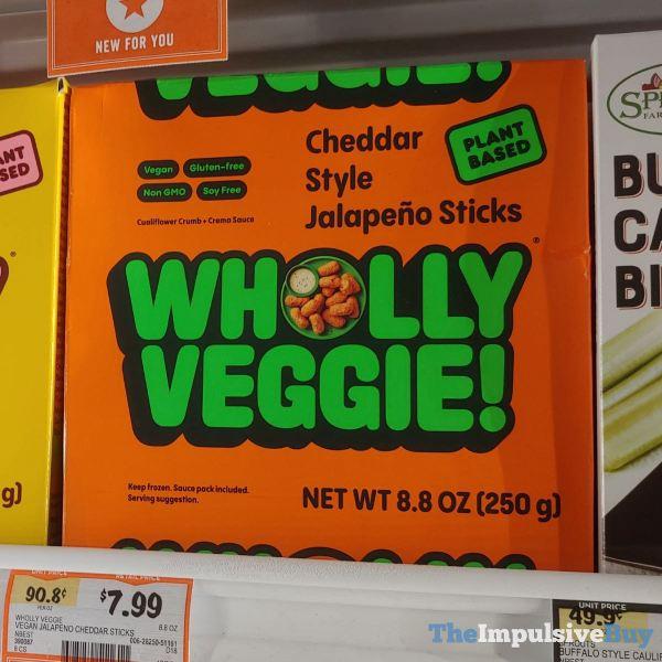 Wholly Veggie Cheddar Style Jalapeno Sticks