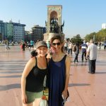 Ashleigh and Beril, Istanbul, Turkey
