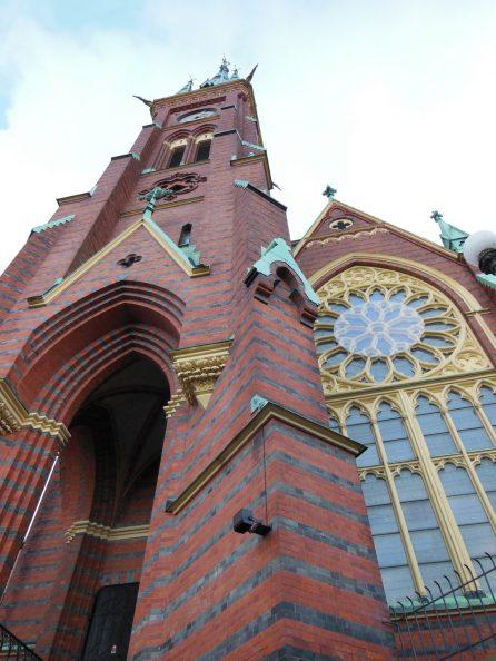 Oscar Fredrik's Church in Gothenburg, Sweden