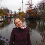 Ashleigh, Tivoli Theme Park, Copenhagen, Denmark