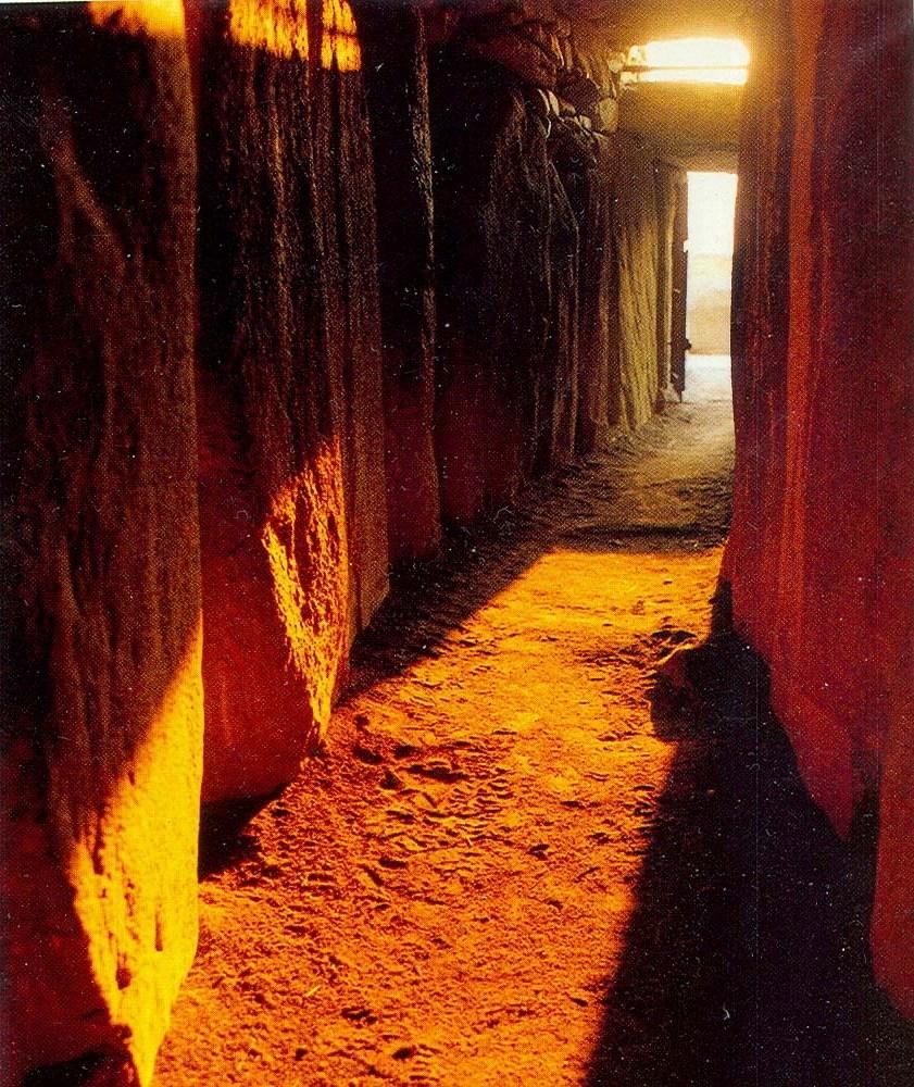 Inside Newgrange