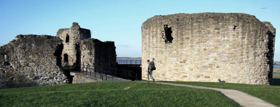 Flint Castle, Wales, Britain
