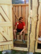 New outhouse