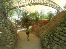 Ancient mudbrick walls