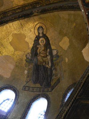 Madonna and Child, Hagia Sophia, Istanbul, Turkey