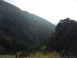 Hiking near Mount Lovćen , Montenegro