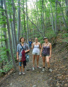 Katrin, Elena, Ashleigh, Sofia, Bulgaria