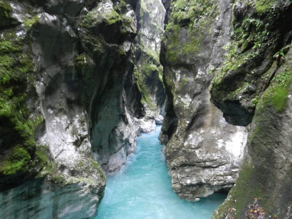 Tolmin Gorge, Tolmin, Slovenia