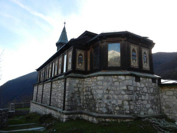 Javorca Church, Tolmin, Slovenia