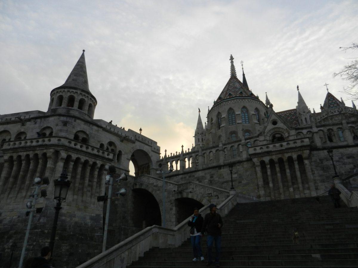 A Night Ride through Budapest