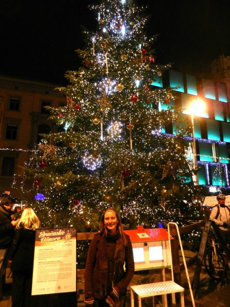 Christmas Tree, Freedom Square, Brno, Czech