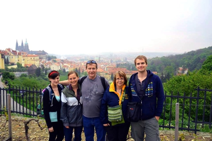 Family Photo, Prague Castle, Czech