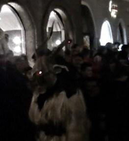 The Krampus Creeps through Salzburg