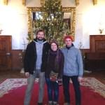 Nathanael, Ashleigh, and Mario in Bojnice Castle, Slovakia