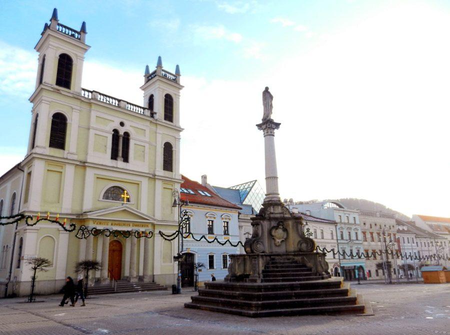 Church of St. Francis Xavier, Banská Bystrica, Slovakia