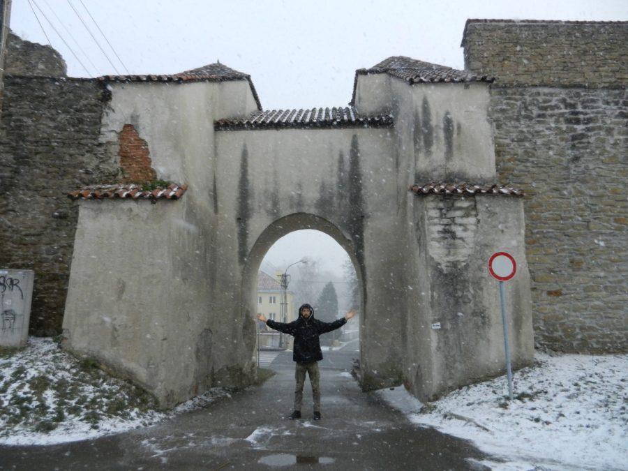 Menhardska Gate, Levoca, Slovakia
