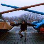 Nathanael Seperates Tanks, Mother Motherland, Kiev, Ukraine