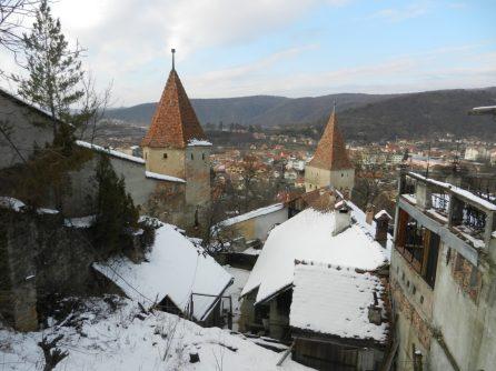 Sighisoara Towers, Transylvania, Romania