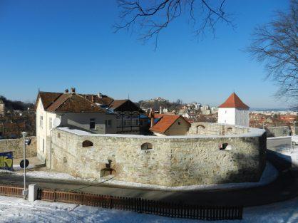 Tesatorilor Bastion, Brasov, Transylvania, Romania