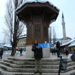 Our guide in Sarajevo