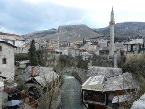 Kriva Cuprija (Crooked Bridge), Mostar, Bosnia