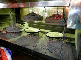 Pita baking in Sarajevo