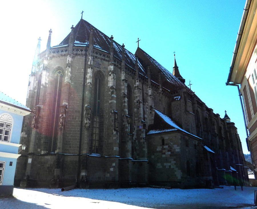The Black Church, Brasov, Transylvania, Romania