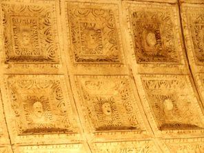 Ceiling Faces, Temple of Jupiter, Split, Croatia