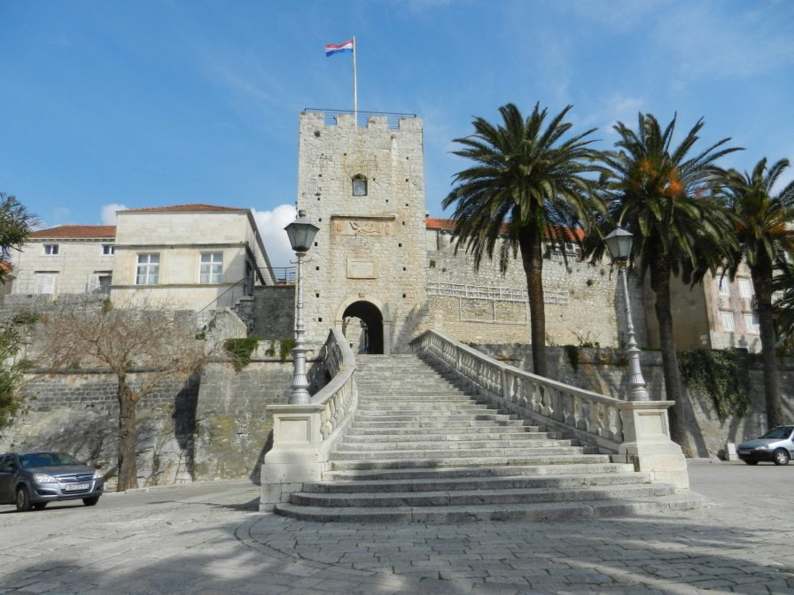 Korčula, Dalmatia,Croatia