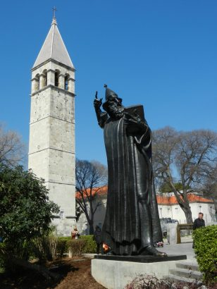 Sculpture of Gregorious of Nin