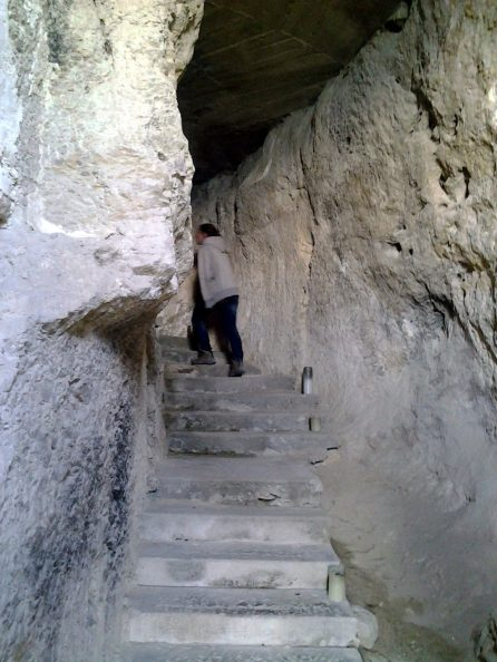 Inside Hermitage, Marjan Park, Split, Croatia