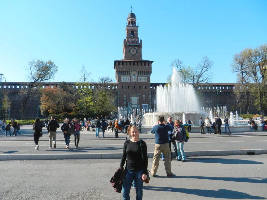Sfoza Main Gate, Milan, Italy