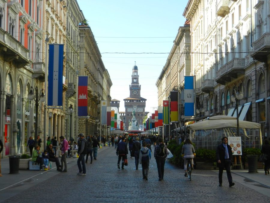 Via Dante, Milan, Italy