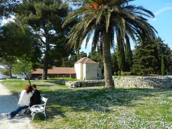 St. Stephen's Church, Sustipan Park, Split, Croatia