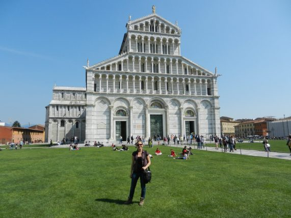 Ashleigh, Pisa Cathedral, Italy