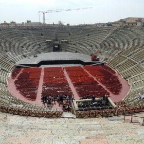Interior of the Roman Arena, Verona