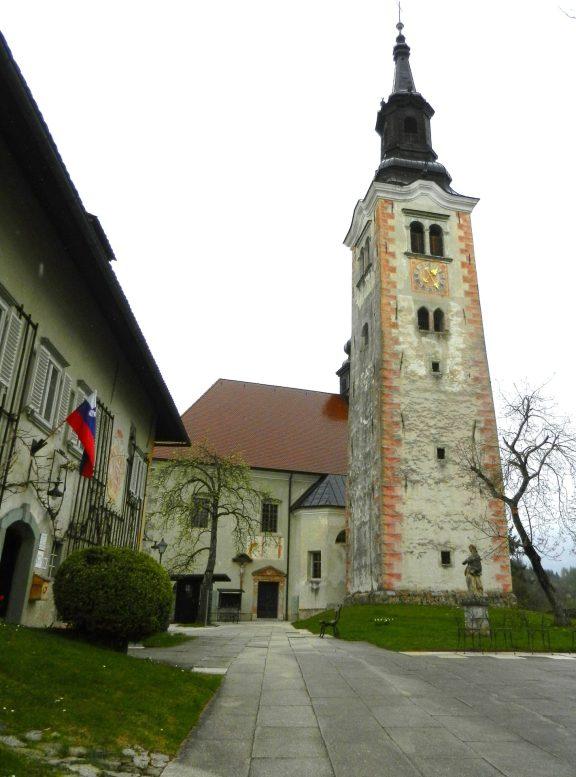 Church of Assumption, Bled Island, Slovenia