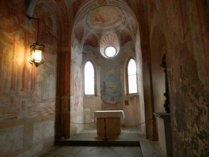 Bled Castle Chapel.