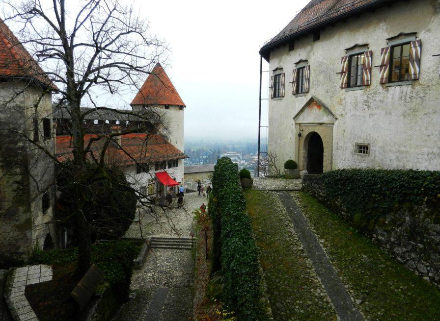 Inside Bled Castle, Slovenia