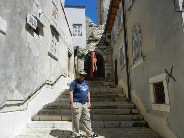Rovinj streets, Istria, Croatia