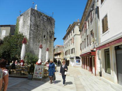 Porec Streets, Istria, Croatia